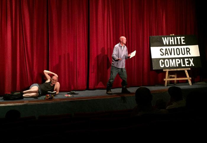 White Saviour Complex on stage