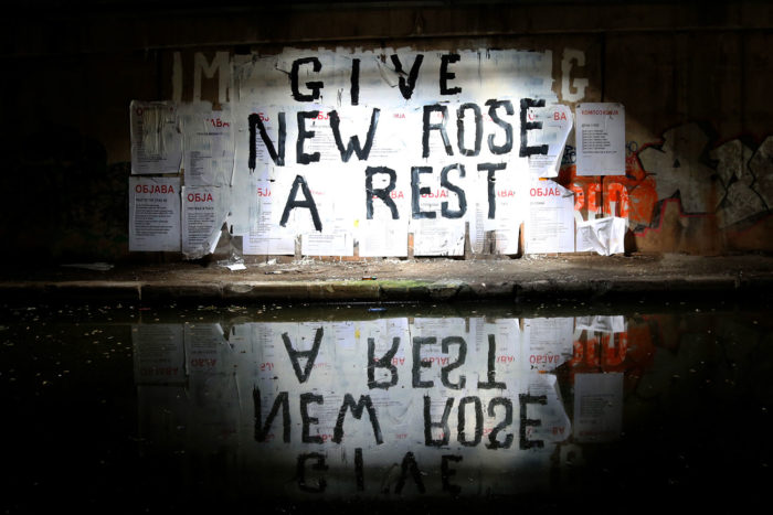 GIVE NEW ROSE A REST (2016)