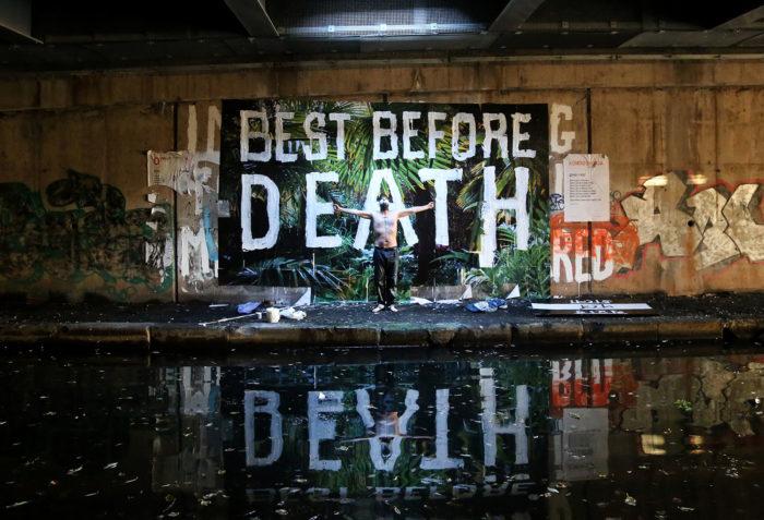 Best Before Death under Spaghetti Junction in December 2016