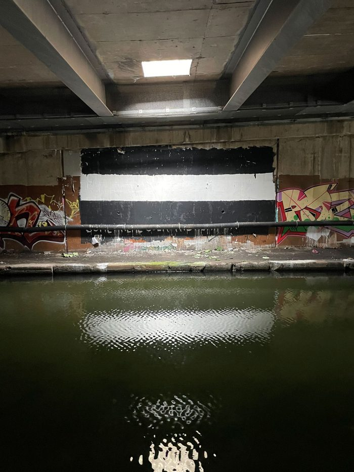 For Ever and Ever Underpass Canal